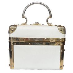 Delill Trunk Bag White now featured on Fab.