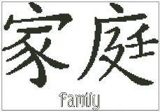 Chinese Symbol - Family