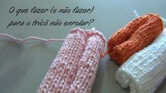 O que fazer (e não fazer) para o tricô não enrolar? {Tricota Curitiba} - YouTube Couture, Fingerless Gloves, Arm Warmers, Creations, Knitting, Handmade, Accessories, Position, Construction