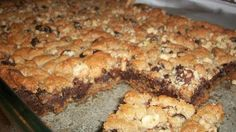 Chocolate chip peanut butter fudgy bars