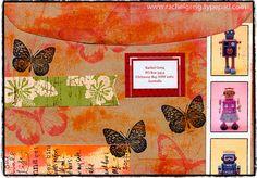 Random mail art envelope - back | Flickr: partage de photos!