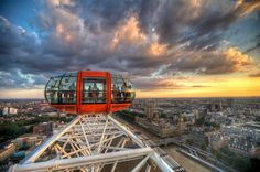 London From An Eye By Chris Muir
