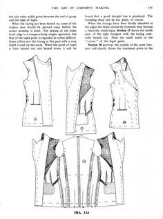 The Art of Garment Making Chap XI: Make-Up of a Lady's Jacket - Women's Cutter and Tailor - The Cutter and Tailor
