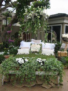 "flower ""bed"" :)"