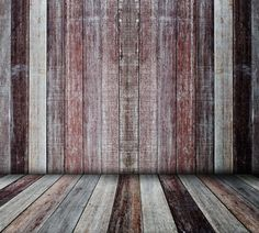 1727 Wood Vinyl Photography Backdrop