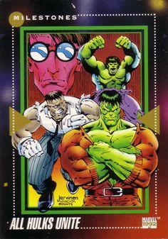 All Hulks Unite Marvel Universe Series 3 #194