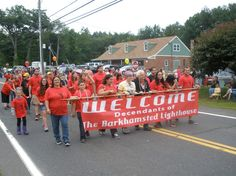The Barkhamsted July 4 parade and Lighthouse Descendants Reunion brought over 100 descendants together in celebration of their heritage and the town's history. (Photos by Stephen Underwood - Special to the Register) Decendants, Lighthouse, Roots, Native American, Celebration, Bring It On, History, Bell Rock Lighthouse, Light House