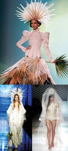 Jean Paul Gaultier's most beautiful wedding dresses | Vogue Paris