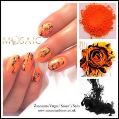 Salon nails from today using products Nail Technician, Nail Artist, Mosaic, Salon Nails, Gemstone Rings, Gemstones, Nail Ideas, Products, Gems