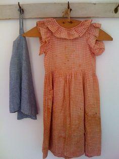 4db9b407ada 19Th C Child s Pinafore. Apron DressSpring AwakeningVintage TextilesDoll  DressesVintage ClothingStyle ClothesApronsBaby ...