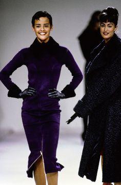 Azzedine Alaïa Fall 1991 Ready-to-Wear Fashion Show - Nadège du Bospertus