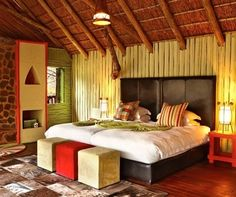 Jaci's Tree Lodge is situated in Madikwe Game Reserve - one of the largest game reserves in South Africa