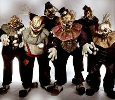 Halloween Steampunk Killer Clowns - For more ideas and inspiration on Halloween Entertainment call KruTalent on 0207 610 7120 or email the team on bookings@krutalent.com