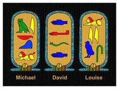 DESIGN YOUR OWN ANCIENT EGYPTIAN CARTOUCHE