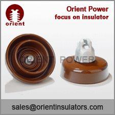 100KN anti-fog type suspension porcelain insulator-Orient
