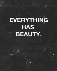 EVERYTHING AND EVERYONE...