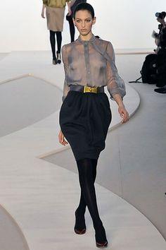 Valentino Fall 2008 Ready-to-Wear Fashion Show - Georgina Stojilkovic