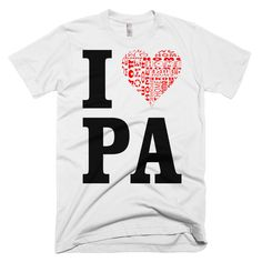 Pennsylvania t-shirt - I Heart PA Pennsylvania tshirt