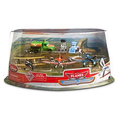 Planes Figure Play Set - Propwash Junction | Figure Sets | Disney Store