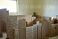 Totally Awesome Indoor Forts - cardboard box city