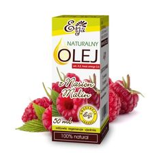 Olej z Pestek Malin 50 ml tłoczony na zimno ETJA - #Sklep internetowy zielfarm- tu kupisz naturalne, ekologiczne kosmetyki do ciała i włosów, suplemeny, zioła, zdrową żywność, naturalne olejki eteryczne