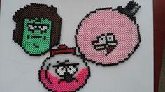 Regular Show perler beads
