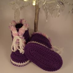 fd9bf4803 Excited to share the latest addition to my  etsy shop  Crochet baby booties