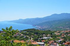 Blick vom Bergdörfchen Kastav auf die Küste #adria #meerblick #kroatien #urlaub #reise #wasser #croatia #travel #vamosreisen