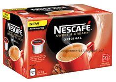 Coupons et Circulaires: 4,99$ Café NESCAFÉ Keurig (12)