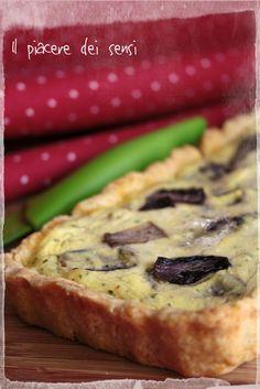 Torta salata con Bella Lodi, ricotta e radicchio  http://ilnuovopiaceredeisensi.altervista.org/torta-salata-con-ricotta-e-radicchio/  #radicchio #ilpiaceredeisensi #ricetta #ricotta #homemade #cheese #recipe #buffet #antipasto