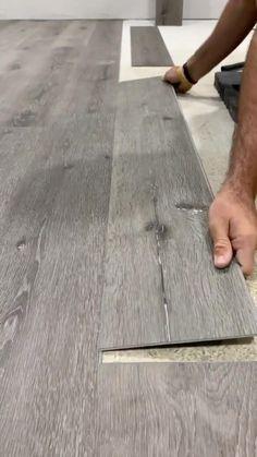 Diy Wood Floors, Diy Flooring, Diy Crafts For Home Decor, Diy Wall Decor, Wood Shop Projects, Home Projects, Home Renovation, Home Remodeling, Diy Home Repair
