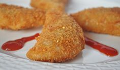 Prawn Rissoles- a Portuguese Snack. This can be made with chicken, vegetables or any other meat.