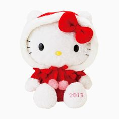 2013 Holiday Hello Kitty Plush Doll
