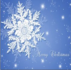 Snowflake Merry Christmas Ceramic Drink Coasters by DanielleCherieDesign, $16.00