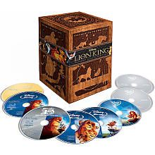 The Lion King 8-Disc BLU-RAY