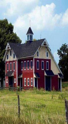 Wow what a barn