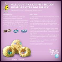 Rice Krispie Treat Easter Eggs how to