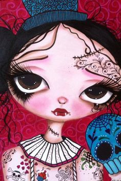 Princess Emily Boo 8x10 panel Original sold Being shipped to the UK