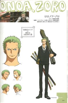 I swear I squealed in delight  when I saw Zoro all dressed up in Strong world. Every man looks better in a suit ... and Zoro is already so damn handsome and sexy ^^