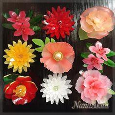 Resin Flowers, Felt Flowers, Cloth Flowers, Fabric Flowers, Presents For Your Boyfriend, Shrink Plastic Jewelry, Plastic Bottle Flowers, Japanese Gifts, Shrink Art