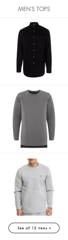 """""""MEN'S TOPS"""" by wa-sa-bae ❤ liked on Polyvore featuring men's fashion, men's clothing, men's shirts, men's dress shirts, men, shirts, mens cotton shirts, paul smith mens shirt, mens classic fit shirts and mens button down dress shirts"""