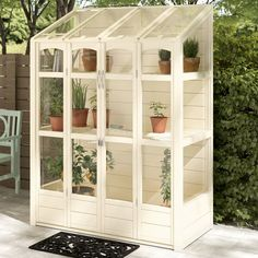 5 Ft W x 2 Ft D Lean-to Greenhouse Bel Étage With Autovent: No - Healthadvent Greenhouse Panels, Walk In Greenhouse, Backyard Greenhouse, Greenhouse Ideas, Diy Small Greenhouse, Homemade Greenhouse, Greenhouse Wedding, Back Gardens, Growing Plants