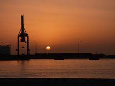 Canary Islands Photography: Amanecer en Puerto del Rosario Fuerteventura Canar...