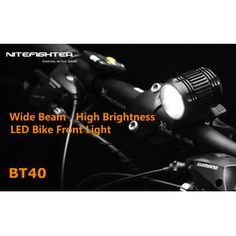 Nite fighter BT 40 bicycle light with 1600 Lumens of brightness