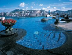 Absolutely stunning rooftop pool at the Harbour Grand Kowloon in Hong Kong....☜♥☞ ℒℴѵℯ