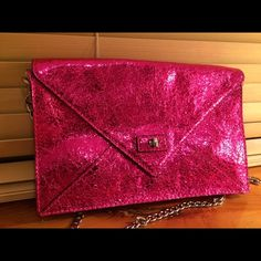 Milly Lola envelope bag Bright pink Milly bag. Brand new. Milly Bags Shoulder Bags