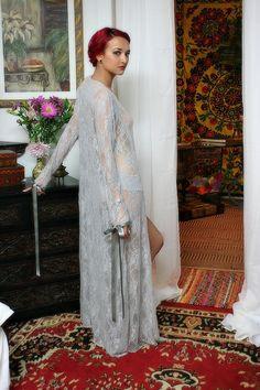 50 Shades Of Grey Nightgown Lingerie Sleepwear Satin Tie