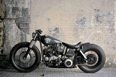 HarleyDavidson FLH FX Bobber!