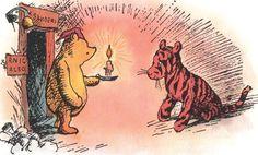 """I'm Pooh,"" said Pooh. ""I'm Tigger,"" said Tigger.- The House at Pooh Corner, 1928"