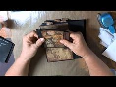 lots of nice flap ideas Creating a Travel Mini ~ Part 2 - YouTube